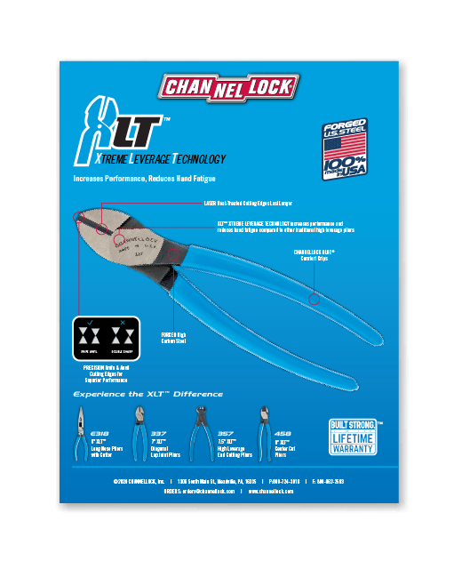 Channellock Product Feature Flyers