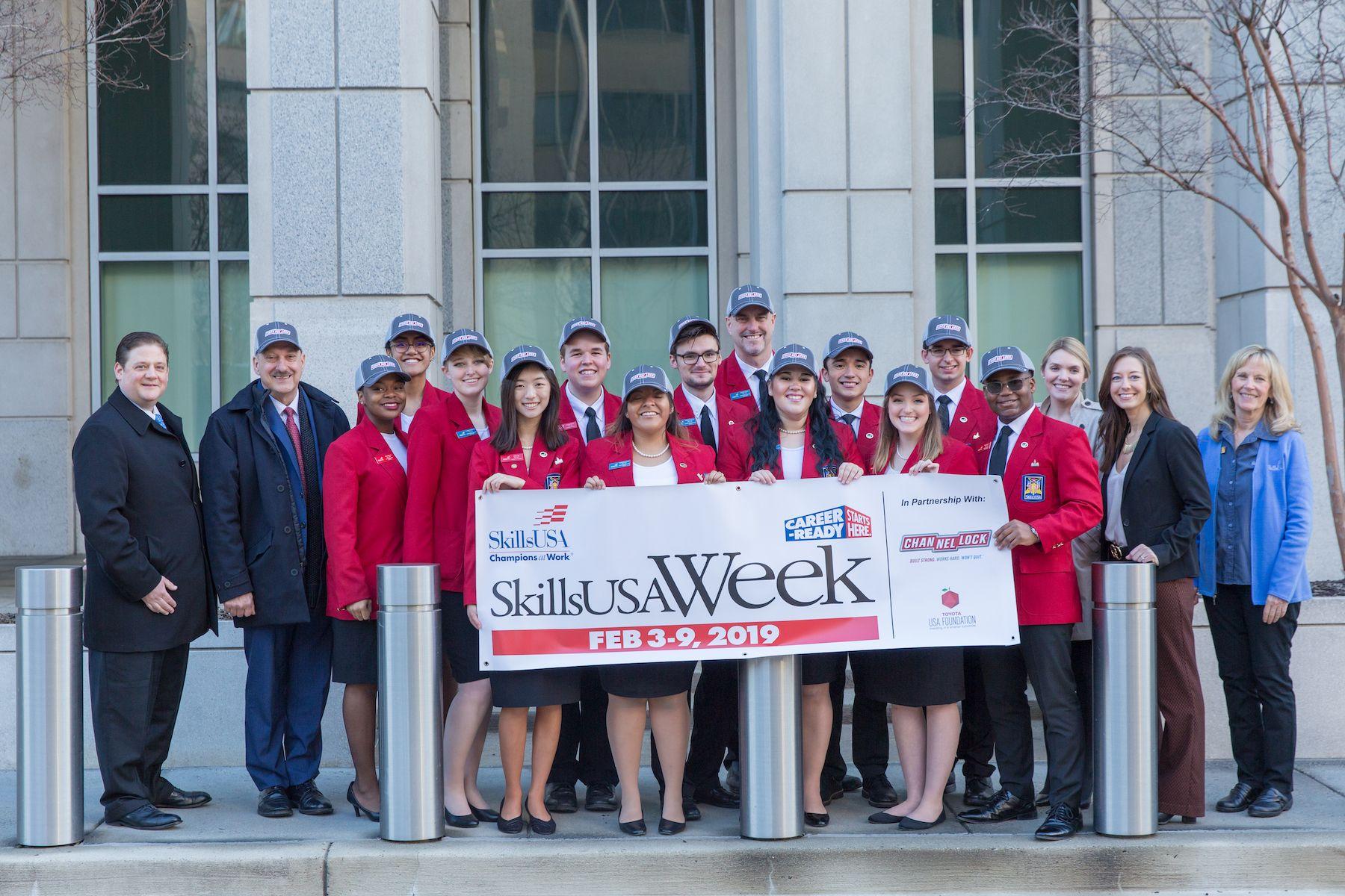 Channellock participates in SkillsUSA week.